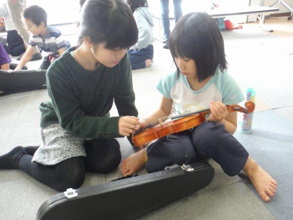 バイオリン体験会